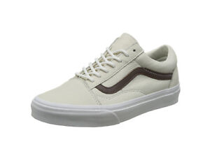 9e796cccb6fcac Vans Men Women Unisex Shoes Old Skool (Leather) blanc de blanc ...