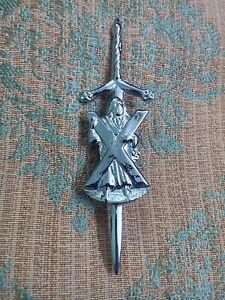 S1-New-Sword-St-Andrew-Kilt-Pin-Chrome-Finish-4-034-Scottish-Kilt-Pin-St-Andrew-4-034