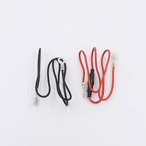 2 Set of Red and Black Wires for USB Charger / Voltmeter Outlet Socket Panel