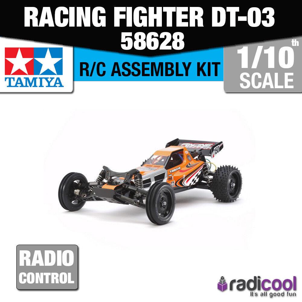 58628 TAMIYA RACING FIGHTER DT-03 Entry Level Kit R/C RADIO CONTROL 1/10th