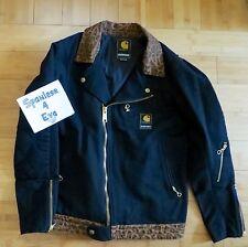 NEIGHBORHOOD × Carhartt WIP Black 14FW Strabler Jacket M Leopard camo