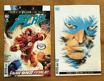 Francis Manapul Variant Cover DC NM+ Flash 75 2019 Howard Porter Main Cover