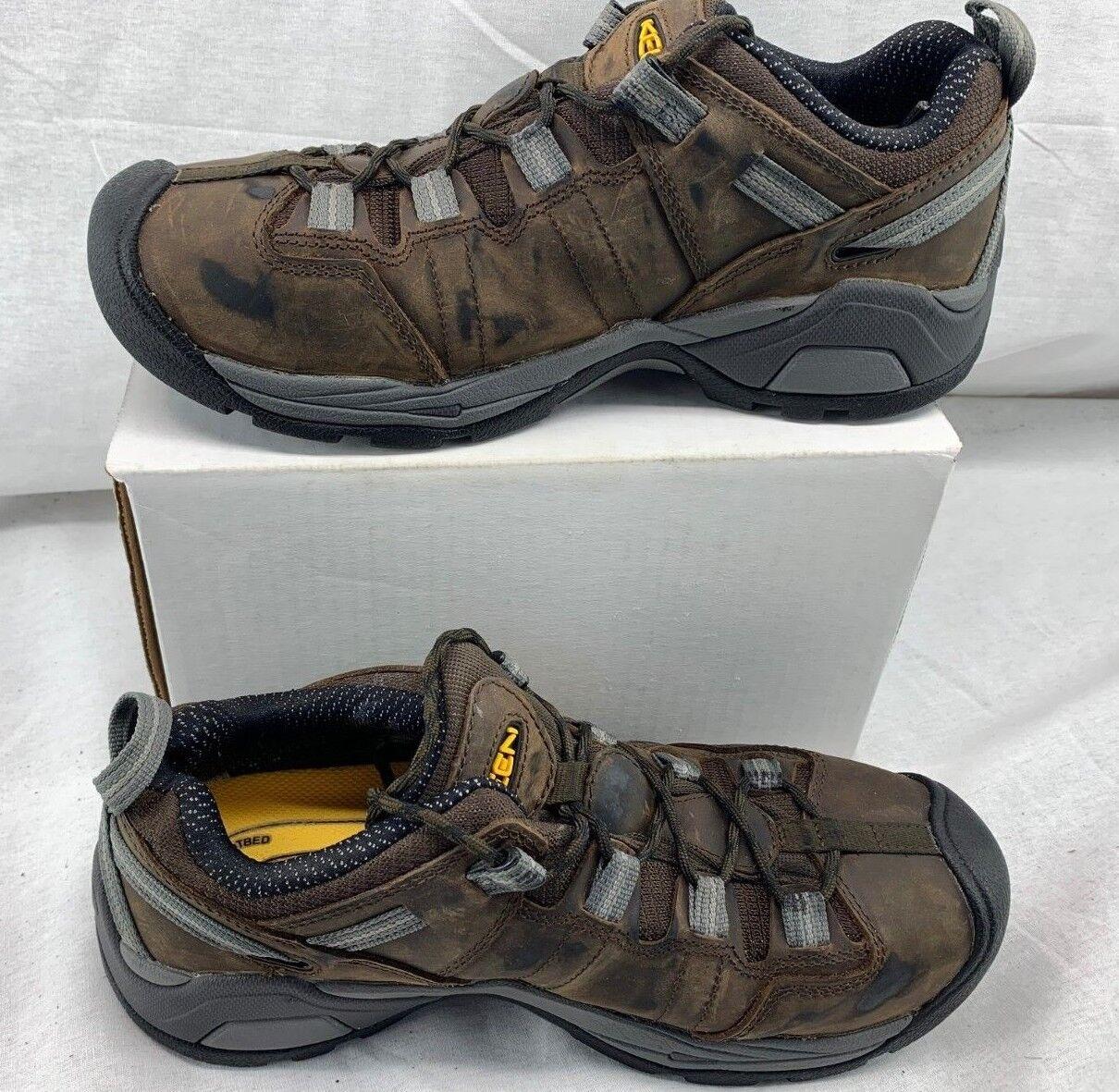 KEEN Utility Men's  Detroit XT Steel Toe ESD Industrial scarpe 1020035 Dimensione 8.5  grande vendita