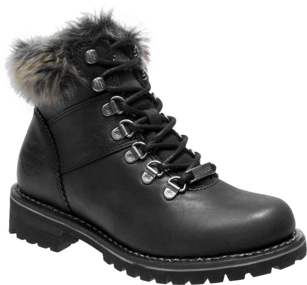 Harley-Davidson Women's Benton 4.5-In Black or Brown Casual Fashion Boots D84317