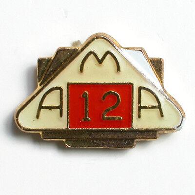 AMA AMERICAN MOTORCYCLIST ASSOCIATION 18 YEAR MEMBER VEST JACKET HAT PIN