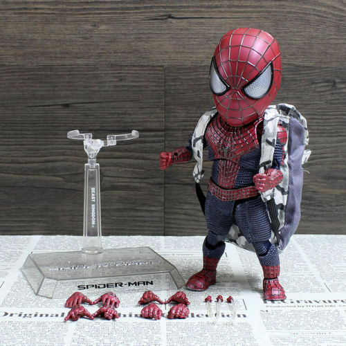 EGG attack Action The SPIDER MAN 2 With Backpack PVC Figure Status Toy NoBox