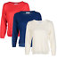 Blu-Cherry-Girls-Women-039-s-Crew-Round-Neck-knitted-Pullover-Jumper-Cashmere-Like thumbnail 3