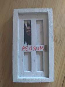 Homemade Horror The Shining Jack Torrance Redrum Door Ornament