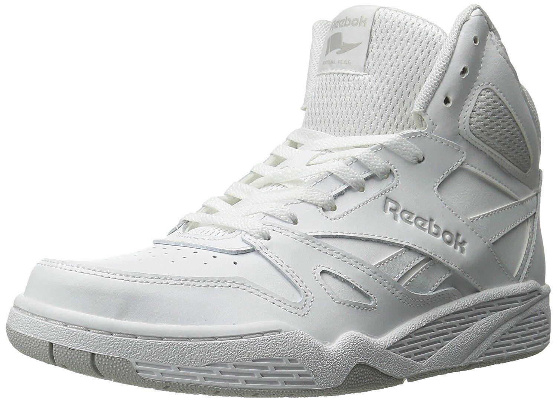 Reebok Mens Royal Bb4500 Hi Fashion Sneaker, White Steel, 10 M US