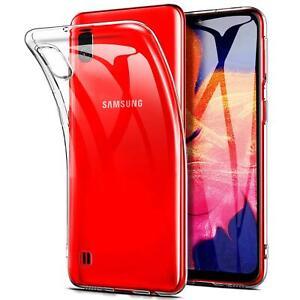 Transparent-Cover-fuer-Samsung-Galaxy-A10-Handy-Huelle-Silikon-Case-Schutz-Tasche