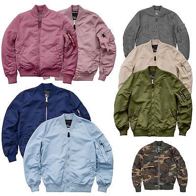 Alpha Industries Herren Jacke MA 1 VF LW Bomberjacke Jacket SLIM FIT S bis 3XL   eBay