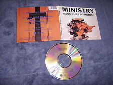 MINISTRY-JESUS BUILT MY HOTROD RARE 3 TRACK SINGLE 1991 SIRE RECORDS!