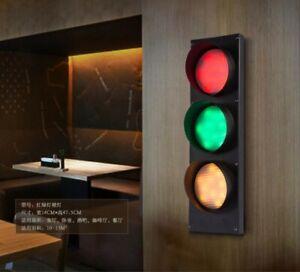Vintage-Wall-Lamp-Iron-Traffic-light-Bar-Hallway-Restaurant-Cafe-Wall-Sconce