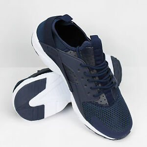 Scarpe-Ginnastica-Uomo-Sneakers-Casual-Blu-Running-Air-Huarache-Corsa-Fitness