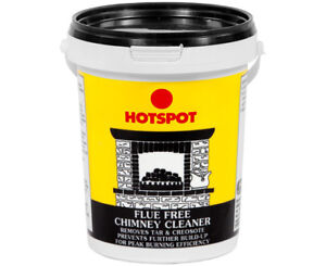 Hotspot Flue Free Chimney Cleaner 750g Stops Amp Removes Tar