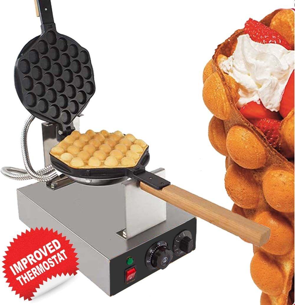 Egg waffle maker bubble Gaufre puffle Maker Professional 110 V ou 220 V