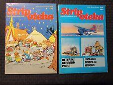 1980 STRIPOTEKA #579 580 FN 6.0 Yugoslavia Comic LOT of 2 Bernard Prins Asterix