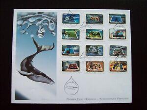 2010_enveloppe 1er Jour Grand Format Nf_fÊte Du Timbre-le Timbre FÊte L'eau. MatéRiaux De Qualité SupéRieure
