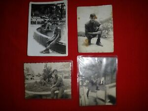 Set Of 4 Vintage ARVN Military Photos SOLDIERS From Vietnam War Era