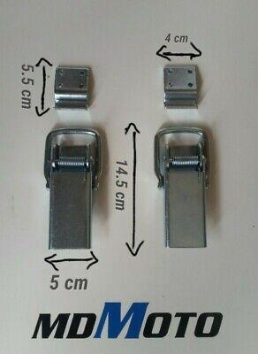 INOX TEC 6 occhioli ganci gancio a vite A4 in acciaio misura ø 3 x 40 mm nuovo