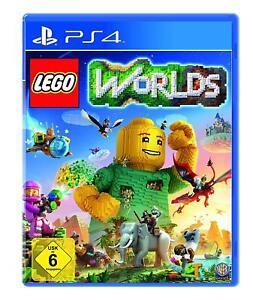 LEGO-Worlds-PlayStation-4-Fuer-die-ganze-Famile-Weltenbau-PS4-Neuware