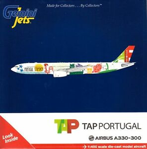 Details about Gemini Jets Tap Air A330-300 CS-Tow Portugal Stopover Livery  1:400 Scale Mode