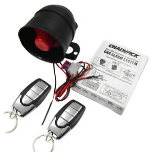 Anti Theft Alarm Protection Security System Keyless Entry ...