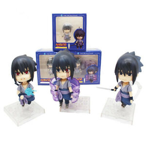 3-Pcs-Set-Nendoroid-Naruto-Shippuden-Sasuke-Uchiha-PVC-Action-Figure-Model-Toy