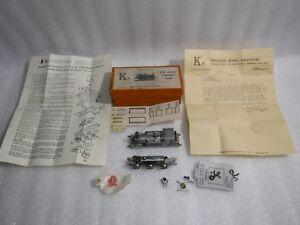 Vintage-Ks-034-Terrier-034-Tank-Locomotive-0-6-0-White-Metal-Kit-Part-Built-Very-RARE