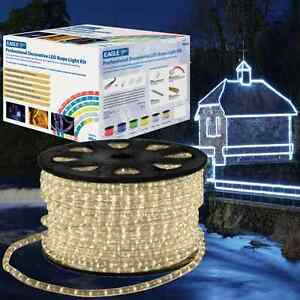 Details About Eagle 90m Led Rope Light Roll Garden Decking Mood Outdoor Lights Kits Christmas