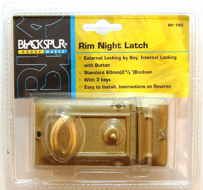 Blackspur BB-BH190 Rim Night Latch
