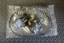 REBUILT Yamaha Banshee carbs carburators TORS REMOVED & NEW CABLE+ idle screws