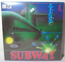 LP GAMES 80'S VTG BOARD GAME SUBWAY EUROPEAN GREEK VERSION NEW VHTF RARE