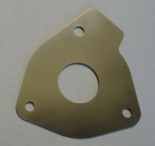 Stainless Steel Wear Plate Replaces Sherwood Pump 25150 end plate