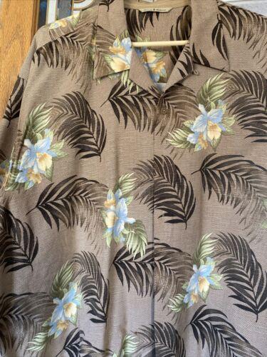 Tommy Bahama XL Lot of 5 Men's 100% Silk Shirts EU