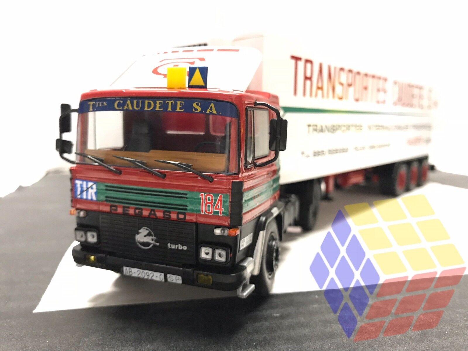 Camión Pegaso 1231T   1231 T+Semi Remolque Frigorifico Transportes Caudete -1 43
