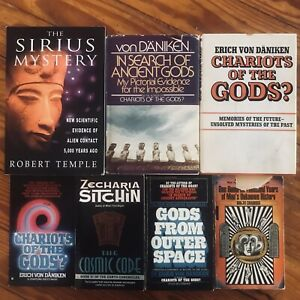 Lot-of-7-Esoteric-Ancient-Aliens-Myth-Origins-UFO-Occult-Alchemy-Metaphysical
