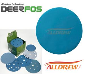 50, Grit 1200 150mm Wet and Dry Sanding Discs 6in Hook and Loop Plain Waterproof 6 Sandpaper 40-3000 Grit
