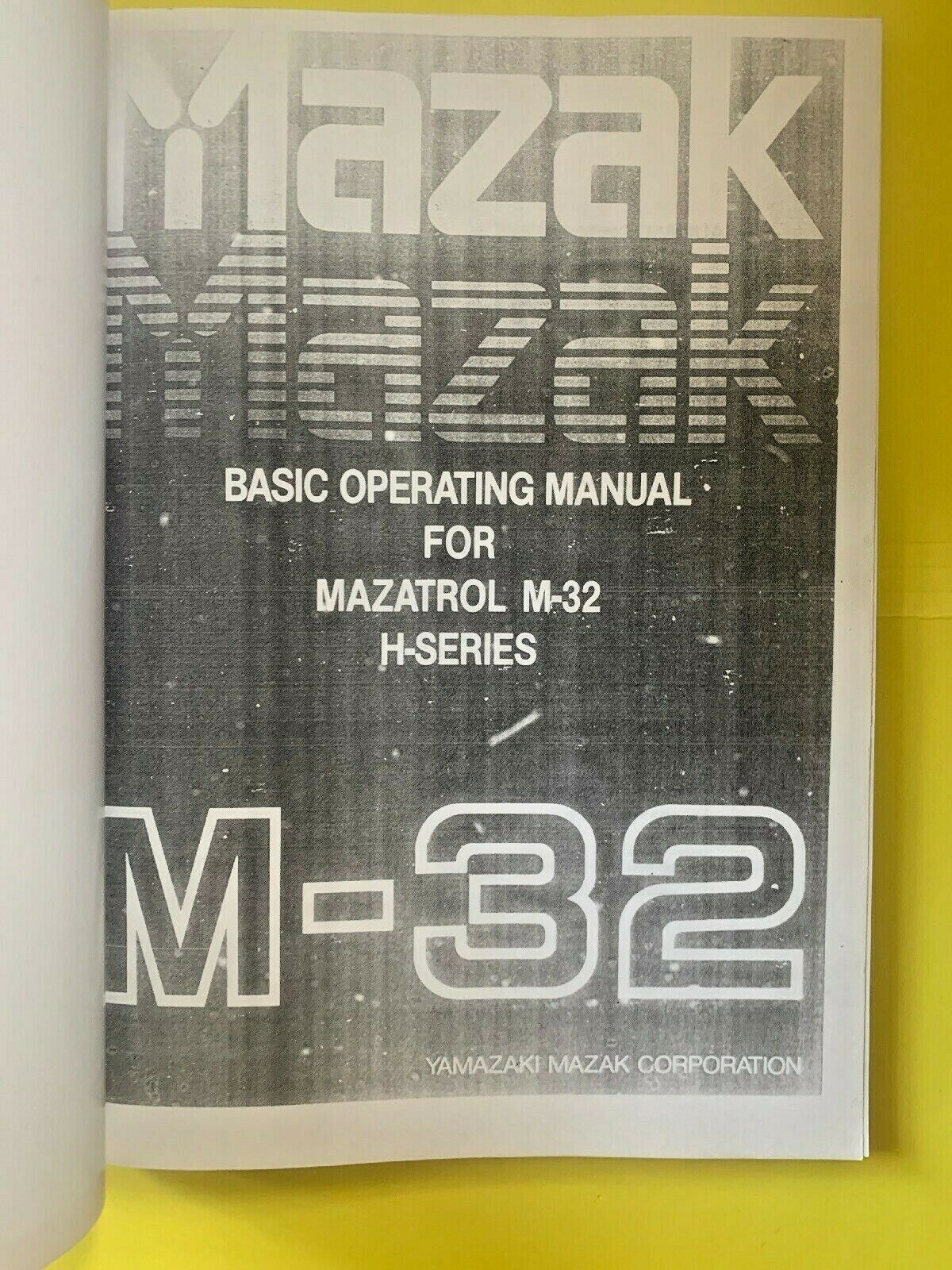 Manual Mazatrol M Plus Programming | Wiring Library