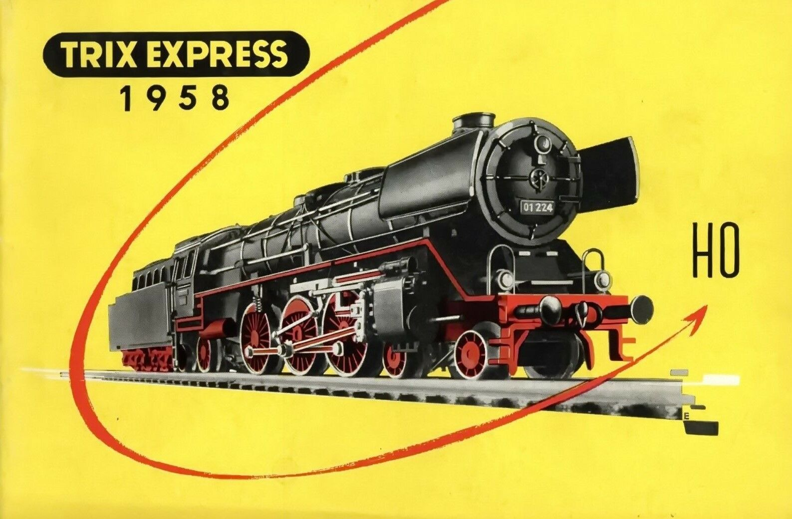 Trix Express H0 1958 Model Railway Catalogue Catalog Model Railroad