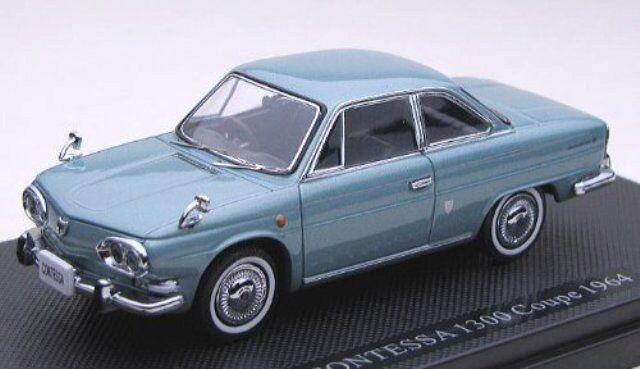 EBBRO EBBRO EBBRO 1964 Hino Contessa 1300 Coupe (bluee) 1 43 Scale Diecast Model NEW, RARE  fc1ca1