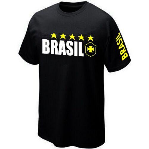T-Shirt BRASIL BRESIL BRAZIL ultras Maillot ★★★★★★