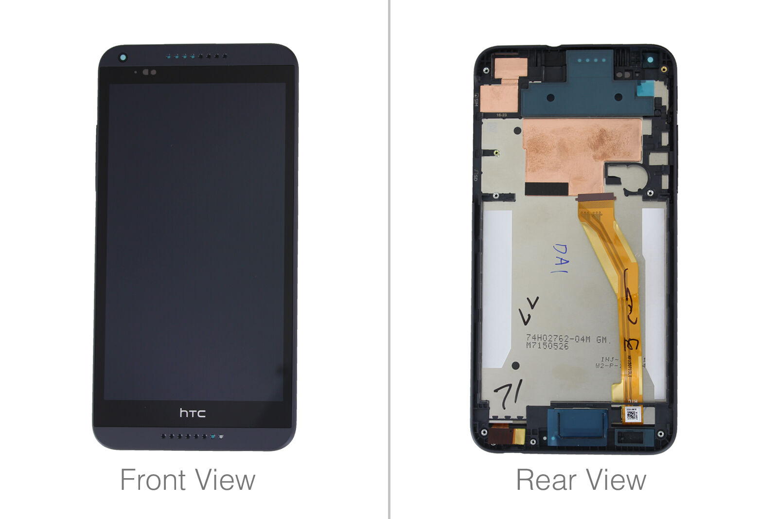 LCD /& Digitizer Assembly for HTC 610 Desire with Glue Card