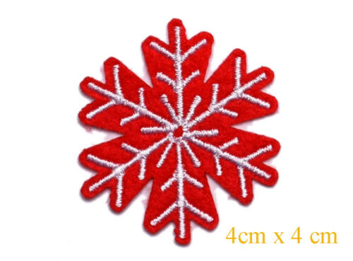 Iron on Christmas Xmas Sew on Patch Motifs 2