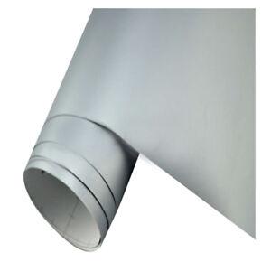 Silber-Auto-Folie-matt-breit-BLASENFREI-selbstklebend-Klebe-Folie-50x152cm-K4U7