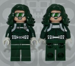 LEGO LIVEWIRE Custom PAD PRINTED Super Heroes DC Comics JUSTICE LEAGUE UNLIMITED