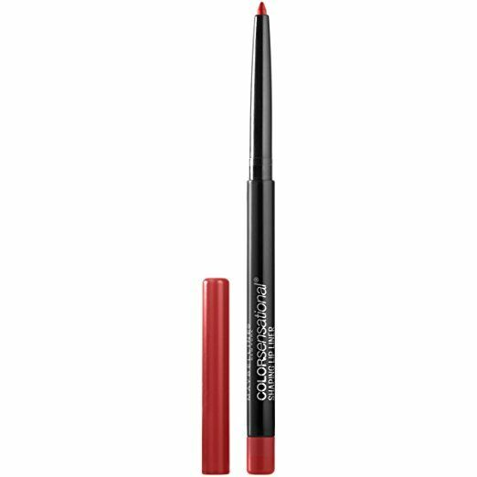 MAYBELLINE NEW YORK ~ COLOR SENSATIONAL SHAPING LIP LINER ~ #150 BRICK RED ~