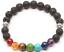 7-Chakra-Healing-Beaded-Bracelet-Natural-Lava-Stone-Diffuser-Bracelet-Jewelry-TK thumbnail 5