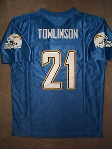 San Diego Chargers Ladanian Tomlinson Nfl Throwback Jersey