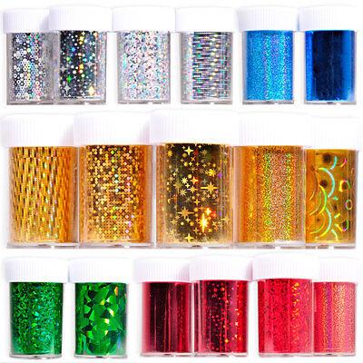 Galaxy Nail Art Transfer Foil Nail Sticker Tips Acrylic DIY Decoration 33 colors